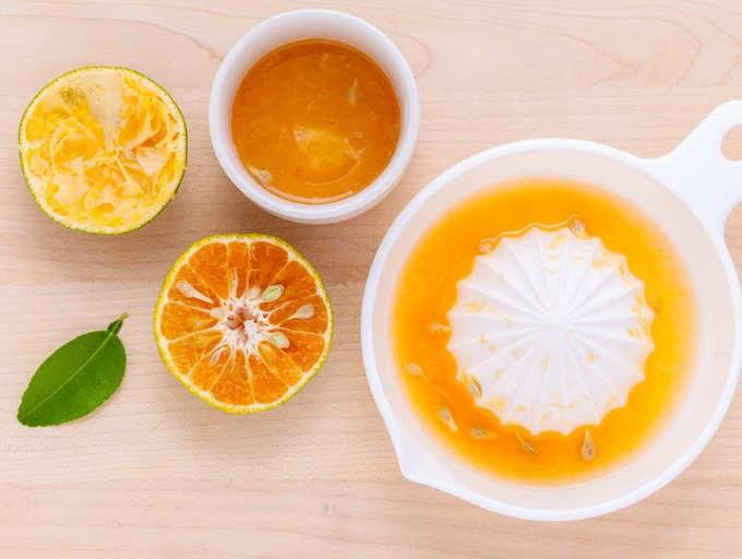 Orange and coriander drink
