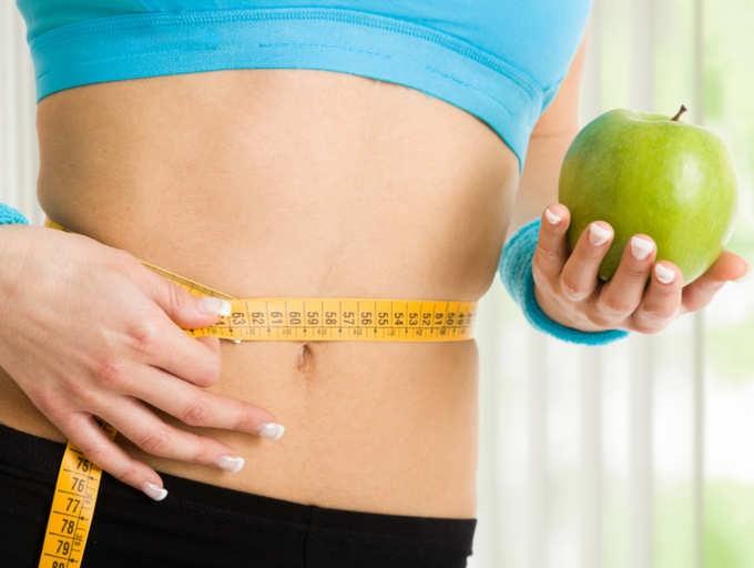 वजन घटाने की मुहीम